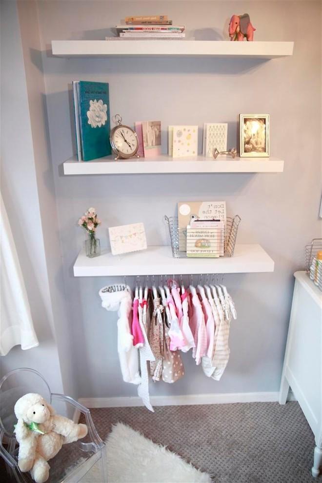 Babyzimmer Mädchen - Babyzimmer gestalten mit Regalen