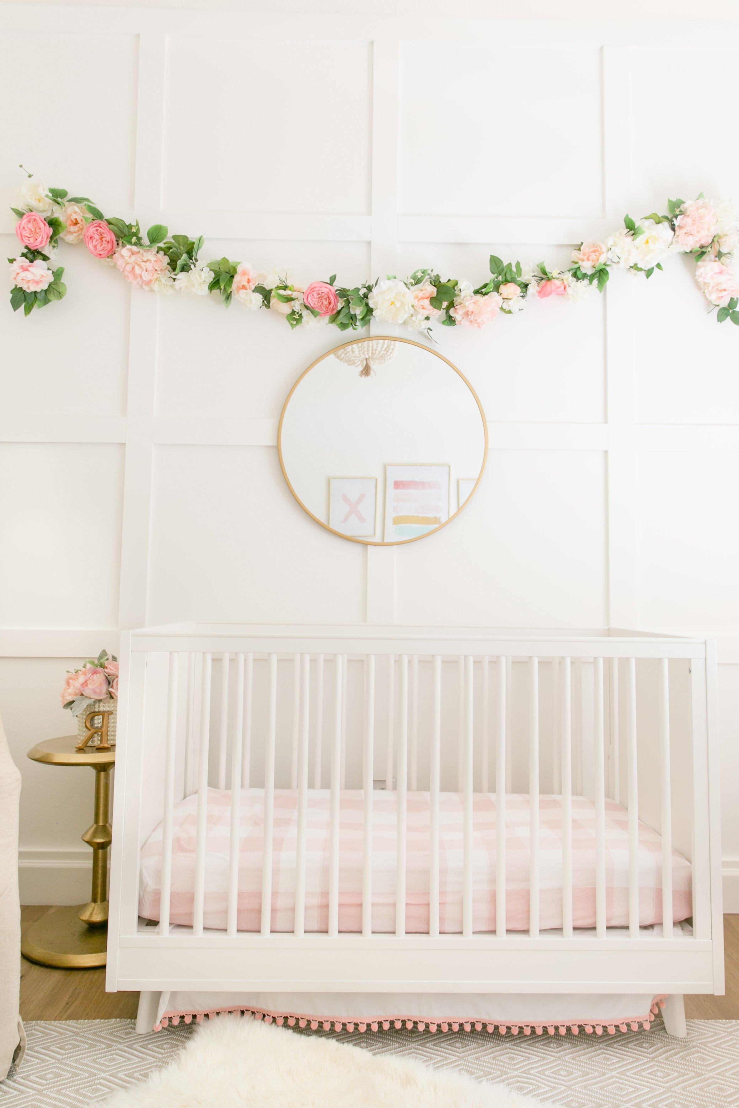 Babyzimmer Mädchen Boho Sitl