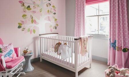 Babyzimmer Mädchen Einrichtungsideen