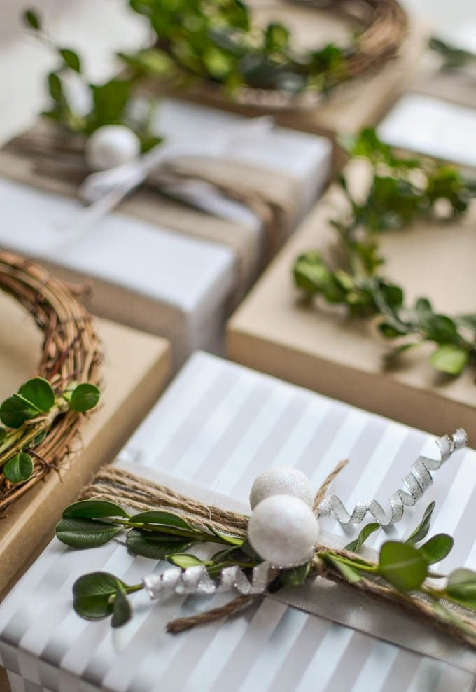 Mit natürlichen Materialien die Geschenke richtig verpacken
