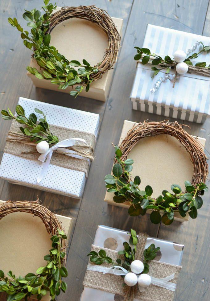 Tolle Ideen für Geschenke richtig verpacken: Setzen Sie auf die natürlichen Materialien