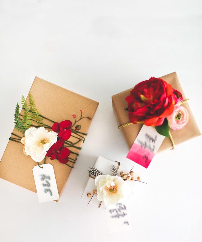 Liebevoll die Geschenke einpacken: So werden die Geschenke richtig verpacken!