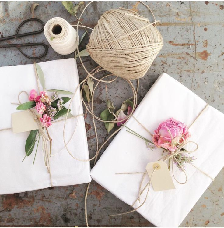 Geschenke einpacken: Die besten DIY Ideen zum Nachmachen
