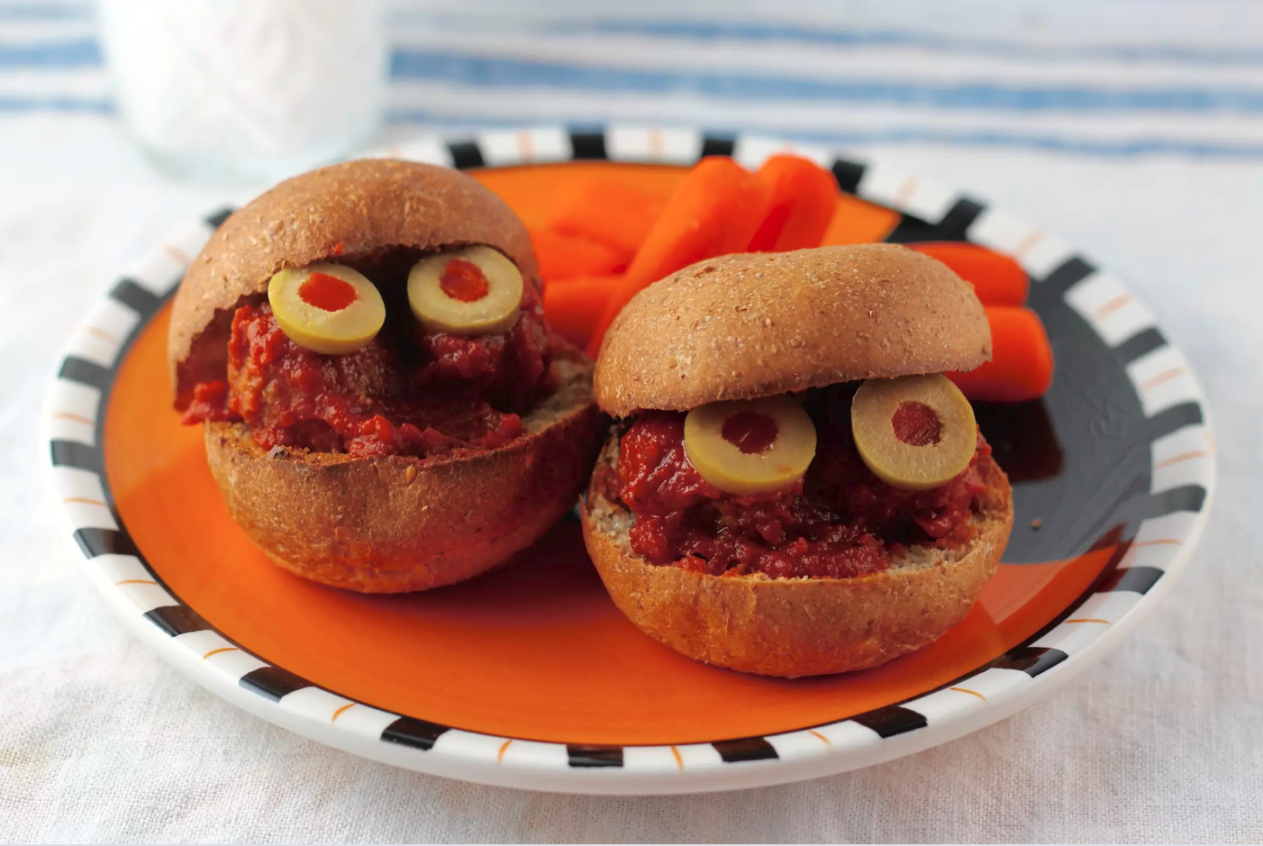 Halloween Party Hamburger