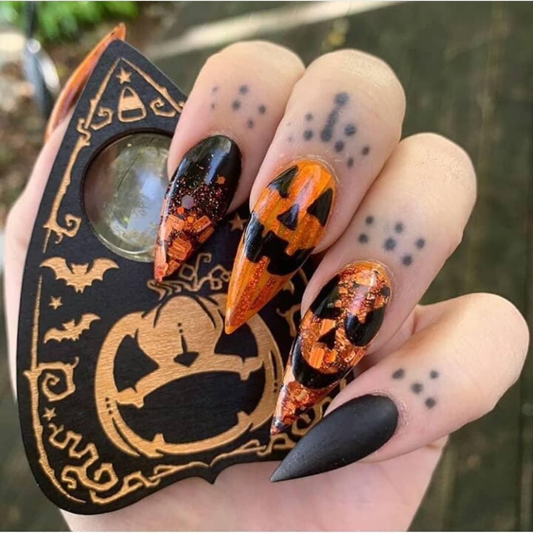 Halloween-Trends 2018 - Halloween Nägel selber machen