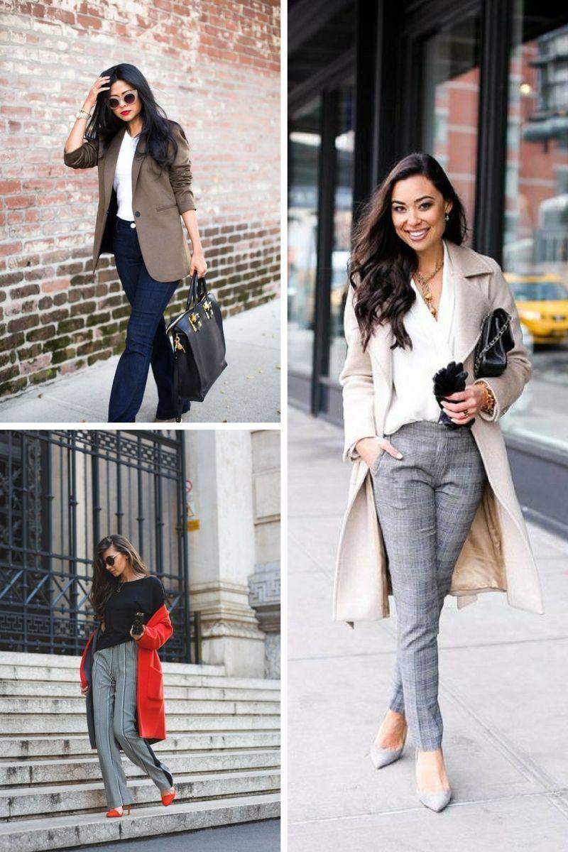 Business Outfit für den Herbst - stilvolle und feminine Ideen