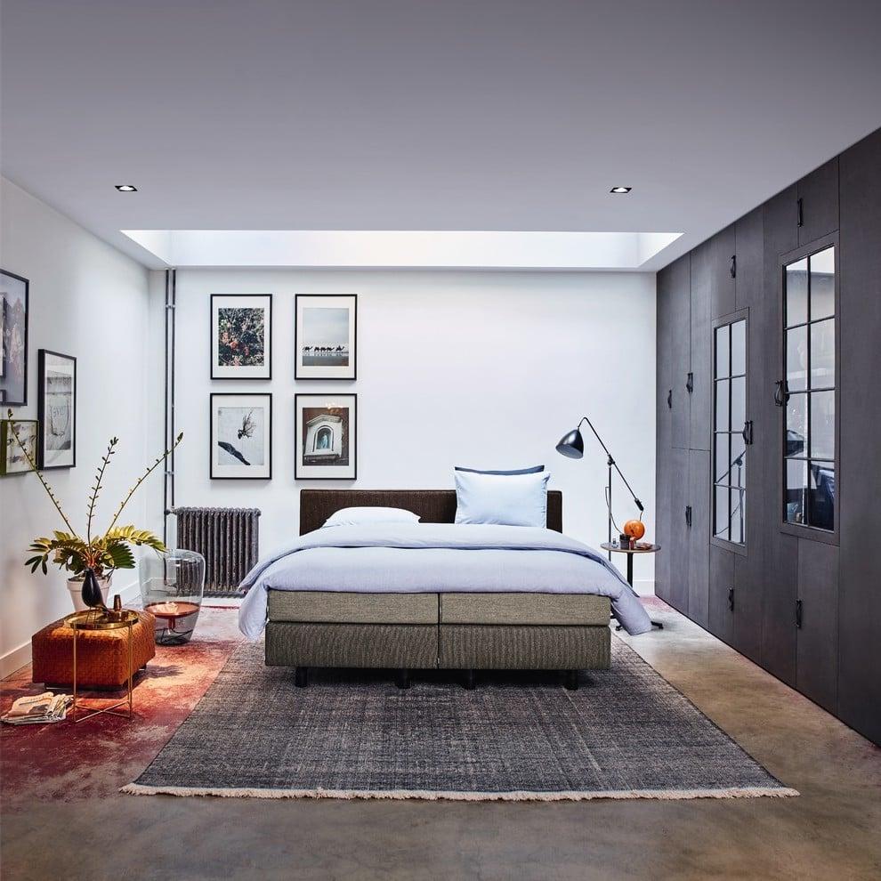 Modern Schlafzimmer einrichten mit Boxspringbett
