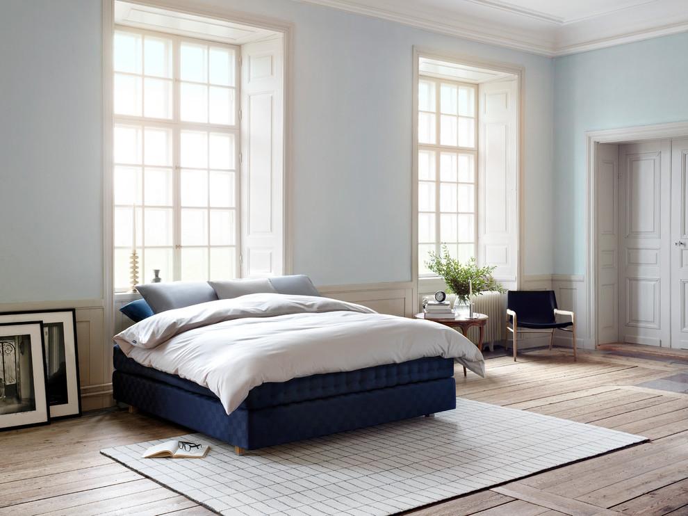 Boxspringbett Ideen für ein modern Schlafzimmer