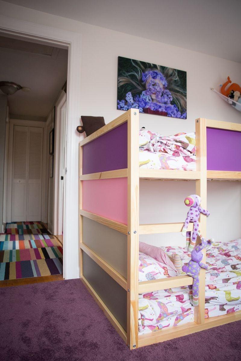Mädchen Zimmer Einrichten mit Ikea Kura Bett