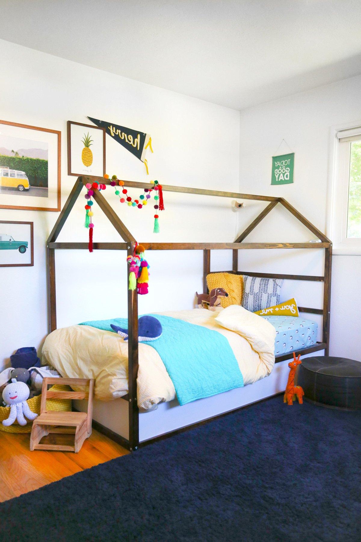 Kinderzimmer Pimpen 10 Diy Hacks Fur Ihr Ikea Kura Bett
