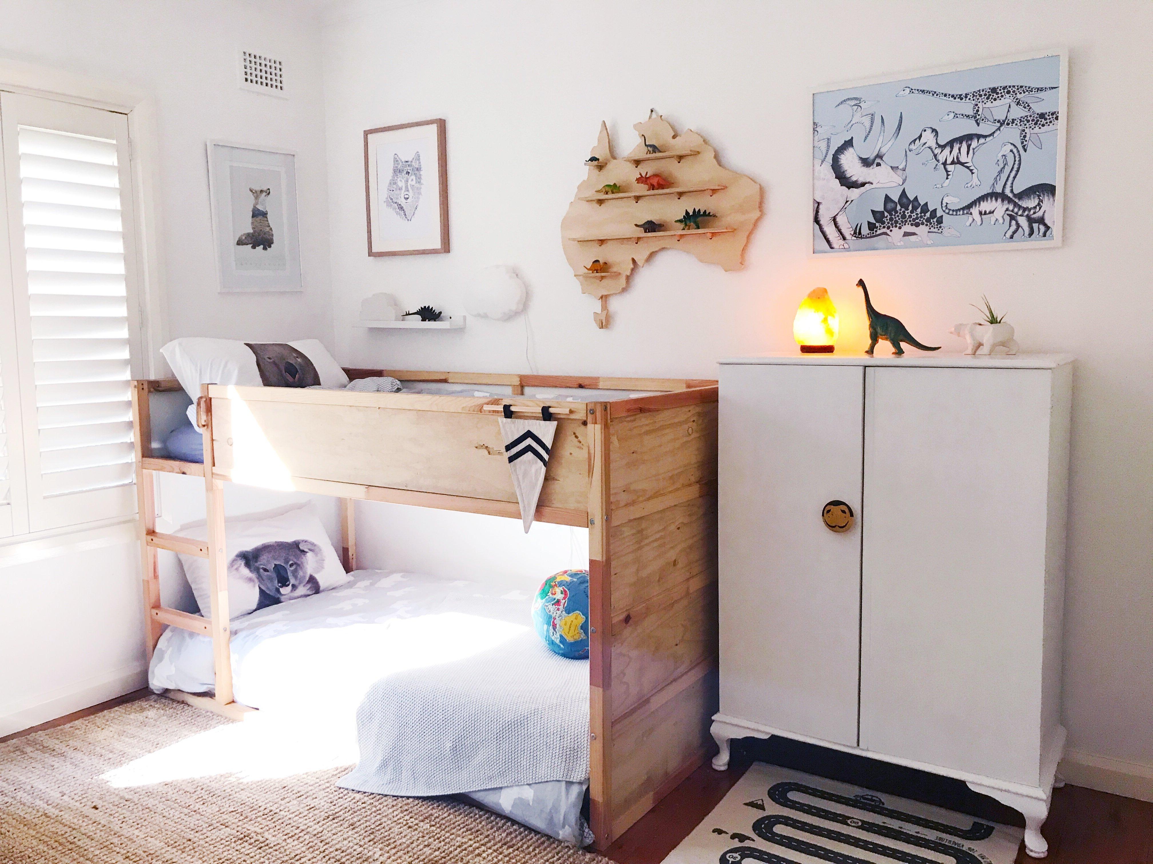 Kura Ikea Bett selber machen - Ikea Hochbett für kleines Kind