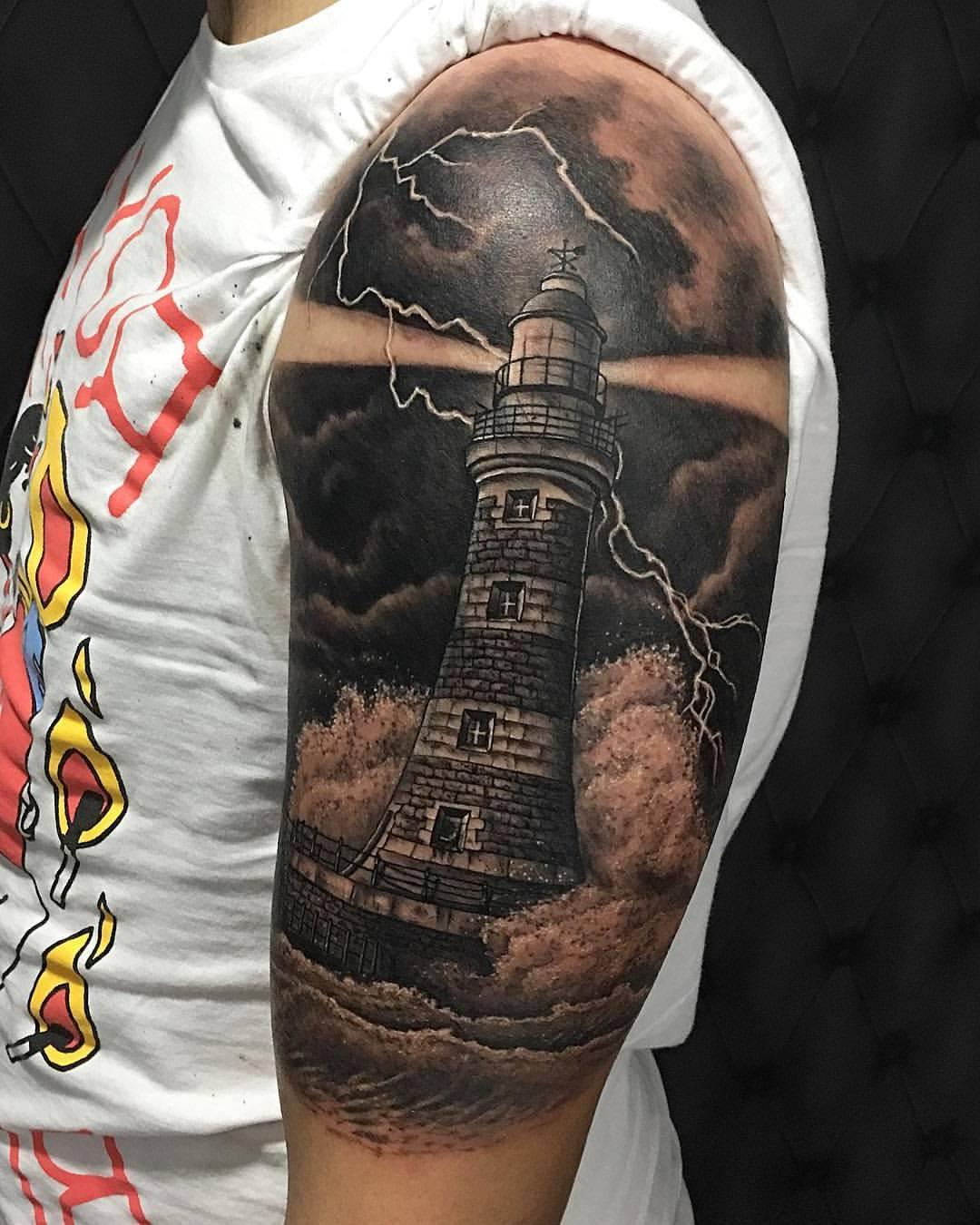 Leuchtturm Tattoo Symbole und Bedeutung