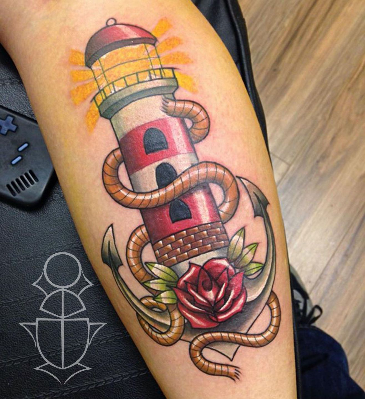 Leuchtturm Tattoo Ideen