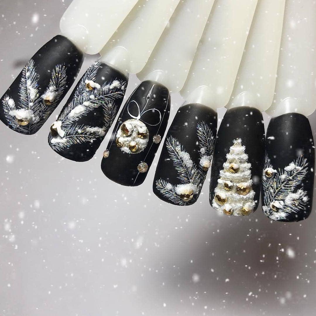 Nageldesign Winter 2018: Die echte Beauty der schwarzen Maniküre