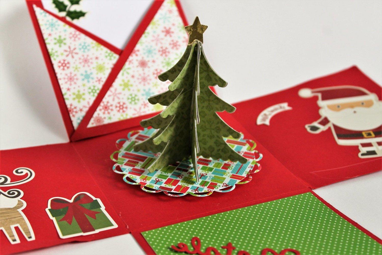 Originelle Weihnachtsgeschenke selber machen: Eine Explosionbox gestalten