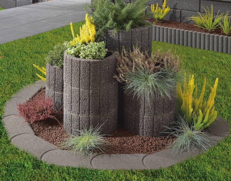Pflanzsteine als Verbindung zwischen Natur und moderner Gartengestaltung