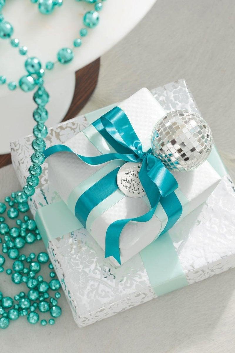 Weihnachten in Blau - Geschenke verpacken DIY Ideen