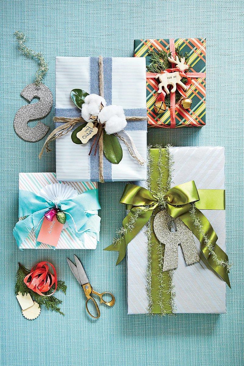 Weihnachten Ideen: Geschenke originell verpacken