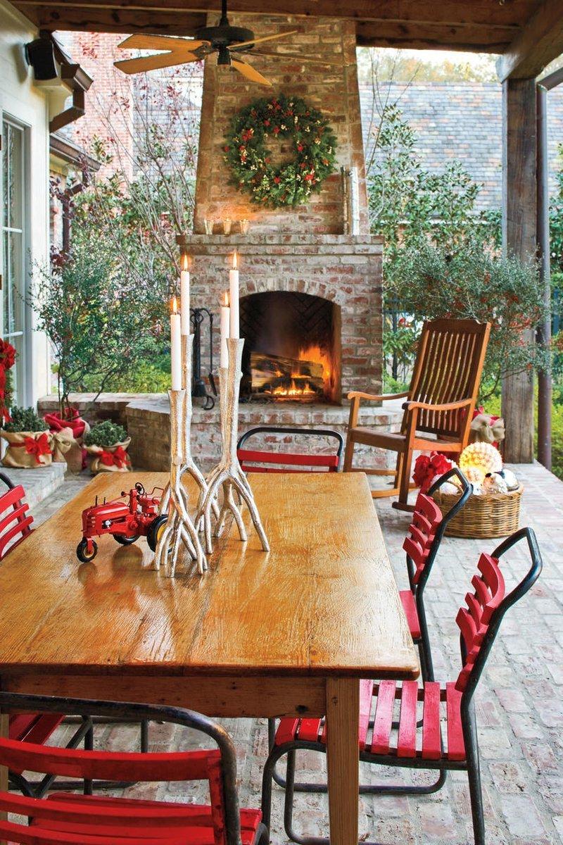 Festliche Weihnachtsdeko Ideen von Pinterest für den Garten