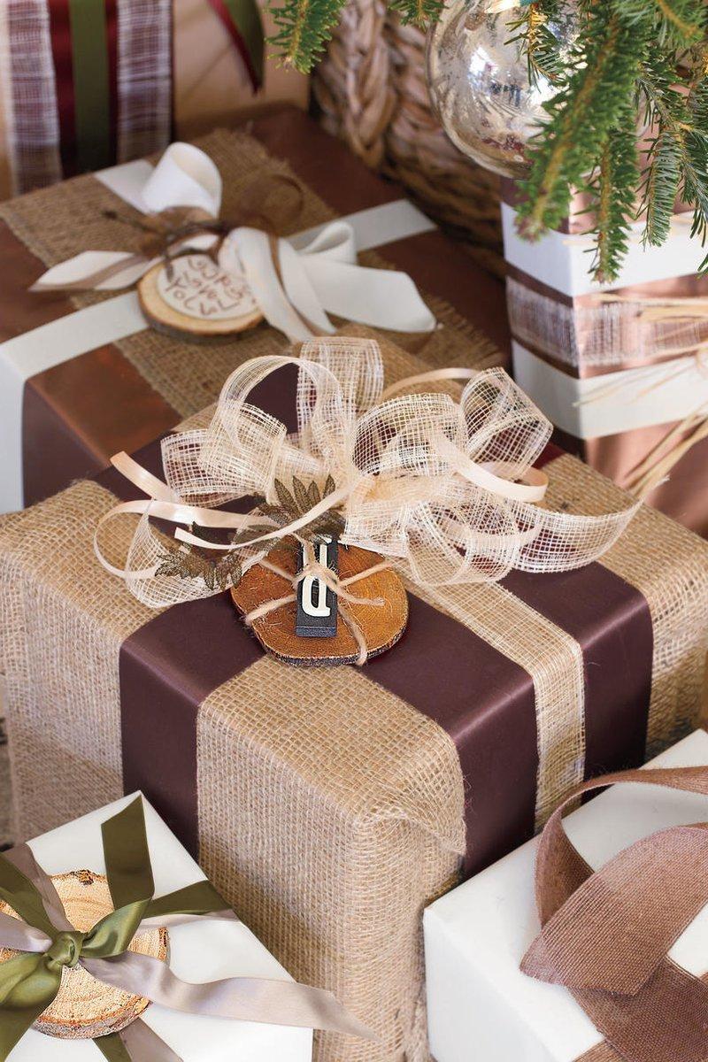 Weihnachtsdeko modern - Geschenke originell verpacken