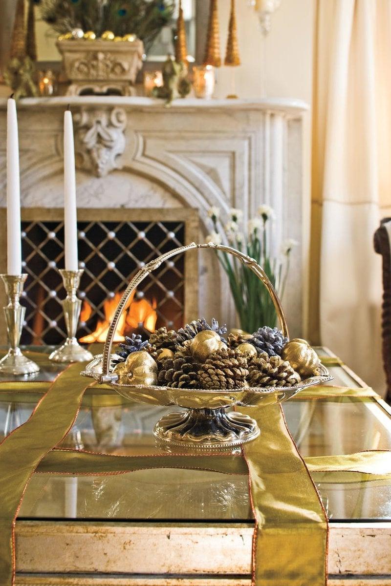 Pinterest Weihnachtsdeko - weihnachtliche Tischdekoration