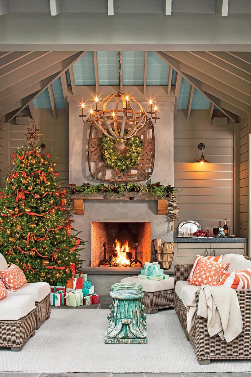 Weihnachtliche Deko Interieur Ideen