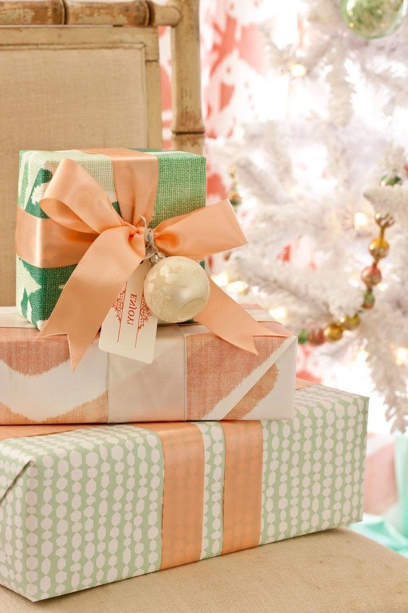 Weihnachtsdeko Pinterest: Geschenke verpacken