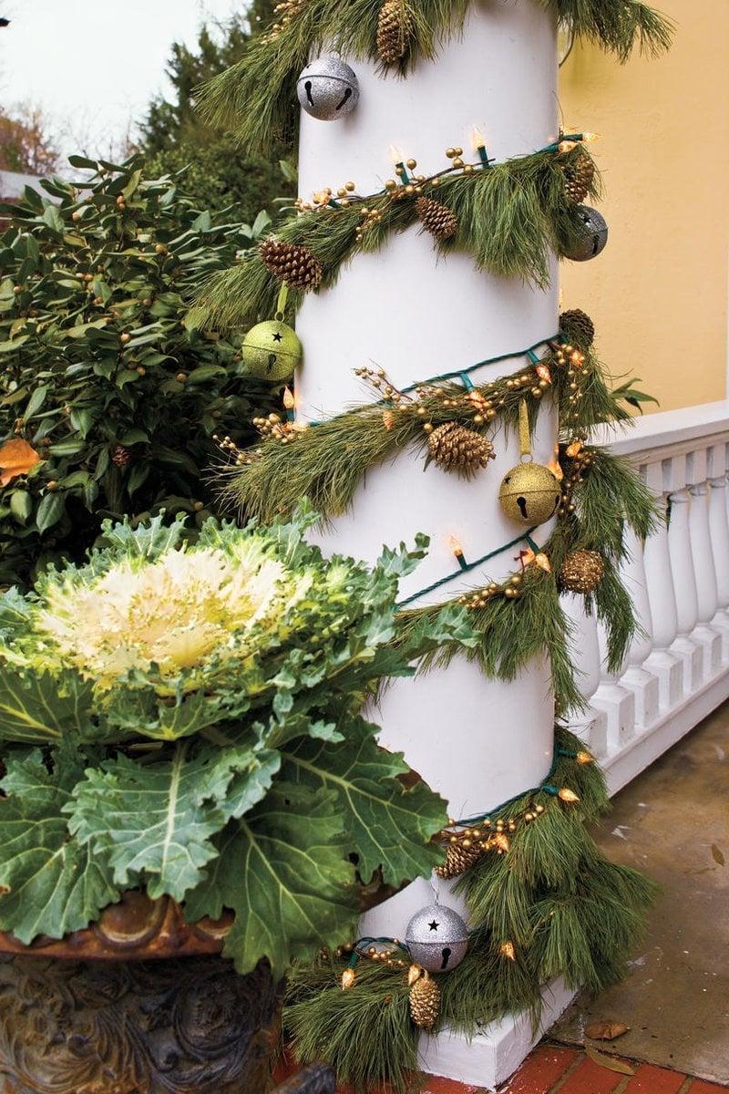 Garten weihnachtlich dekorieren mit Pinterest Weihnachtsdeko Ideen