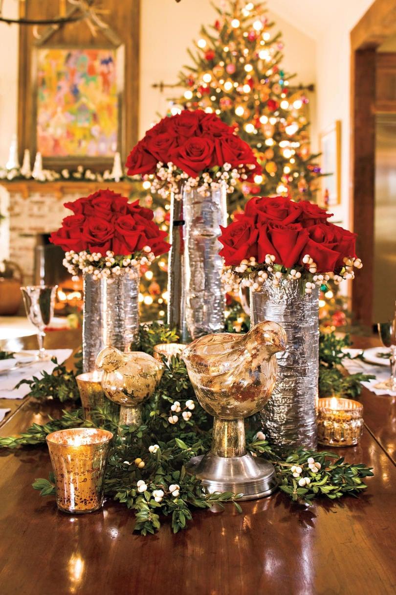 Weihnachtsdeko Ideen von Pinterest - Tischdeko Inspirationen