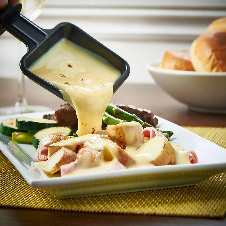 Raclette Ideen für Kartoffeln mit Käse