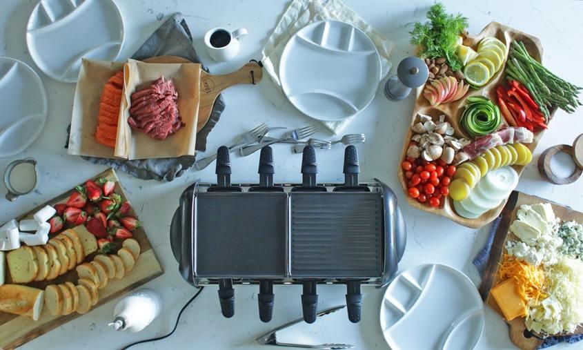 Raclette Ideen für einen Party Abend mit Raclette Grill