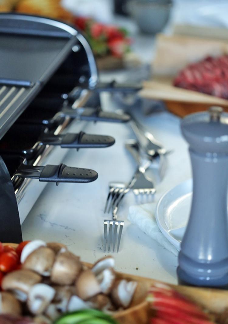 Raclette Ideen für einen Grillabend - Raclette Zutatenliste