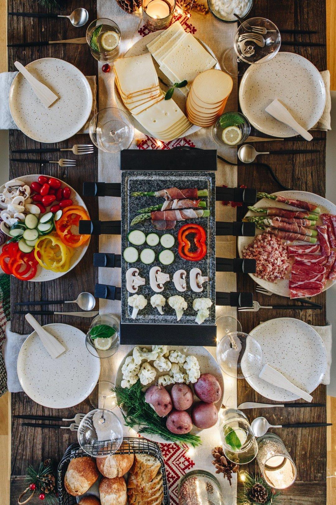 Raclette Ideen - welche Raclette Ideen können Sie auf den Grill
