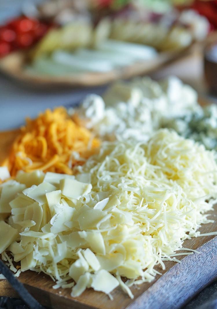 Raclette Ideen für Käse Arten - Raclette Beilagen für den Grill