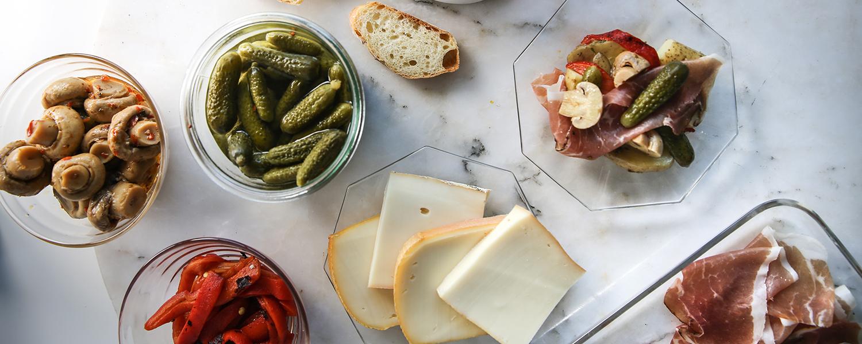 Raclette Beilagen Ideen - Raclette Ideen für Party Abend