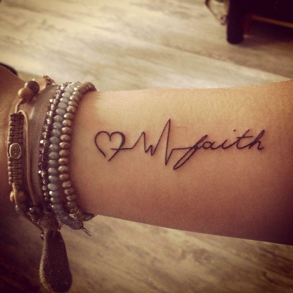 Liebe Glaube Hoffnung Tattoo - Frauen Tattoos