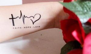 Tattoo Glaube Liebe Hoffnung