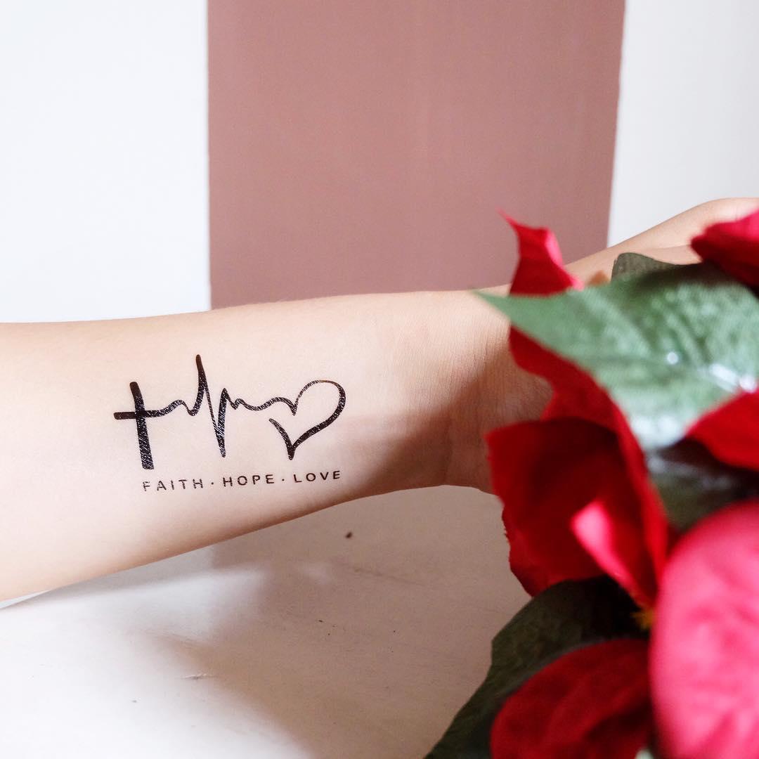 Tattoo Liebe Glaube Hoffnung