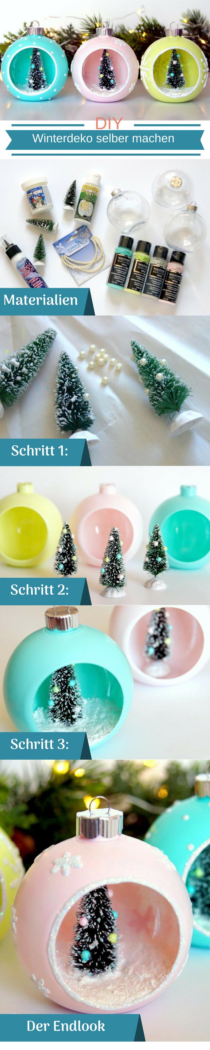 DIY Ideen für Anfänger im Winter