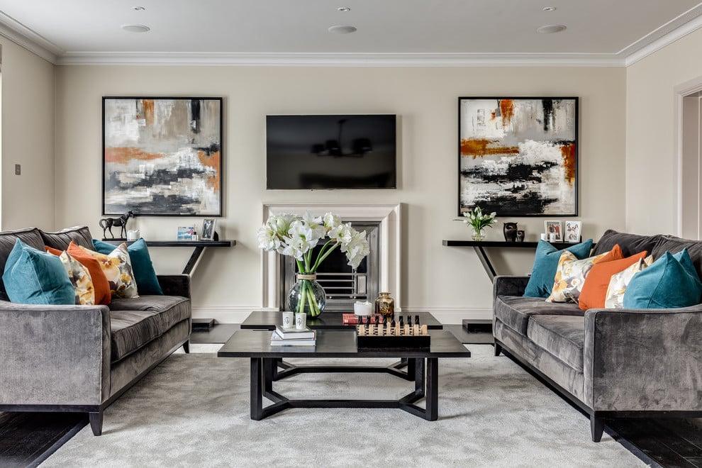 Die gelungenen Wohnzimmer Gestaltungen, wenn das Wohnzimmer Grau ist