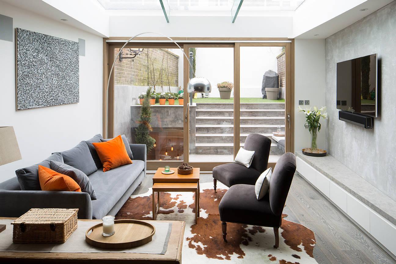 40 Wohnzimmer Ideen für Wandfarbe