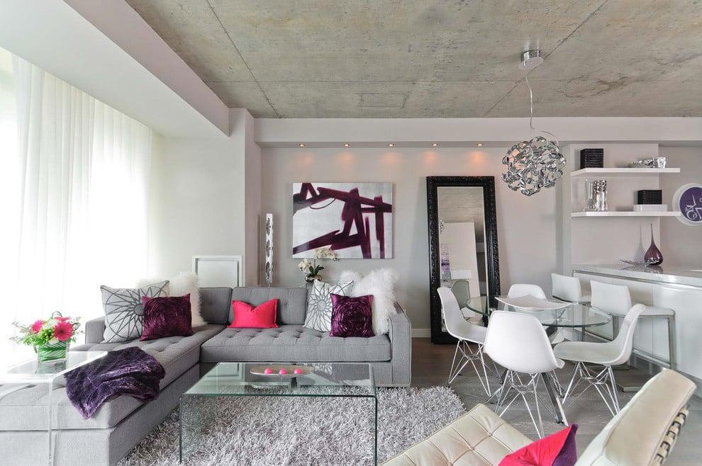Viele tolle Ideen für Wandgestaltung Wohnzimmer