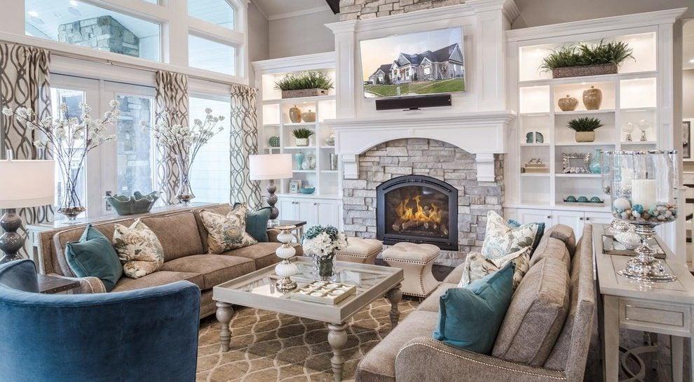 Das Wohnzimmer Grau Machen: 101 Ideen Für Einen Modernen Wohnbereich