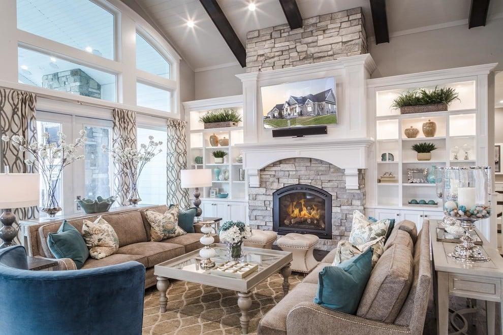 Das Wohnzimmer Grau malen oder Weiß bleiben
