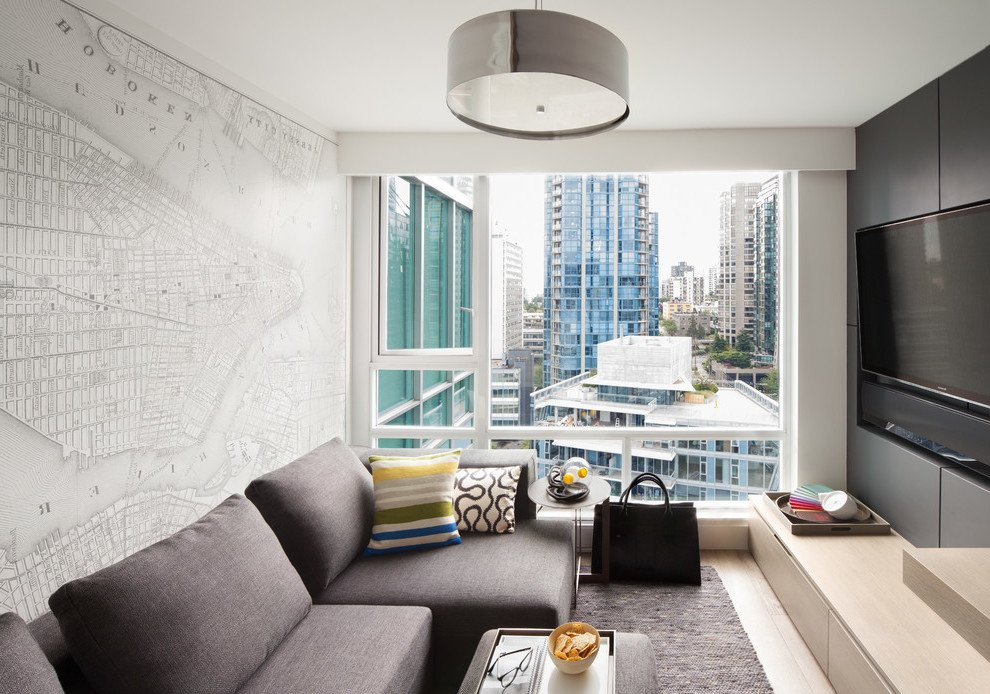 Mein Zuhause in der Großstadt: Darf das Wohnzimmer Grau sein?