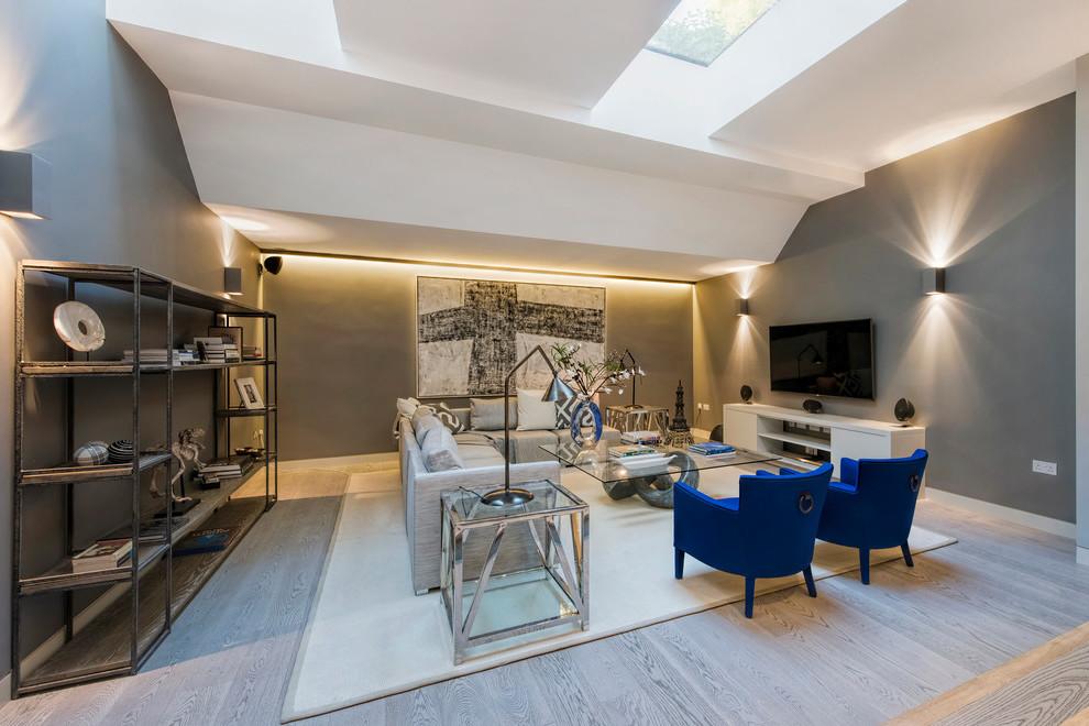 Darf das Wohnzimmer Grau sein: Farbkombination für das perfekte Wohnzimmer in Grau
