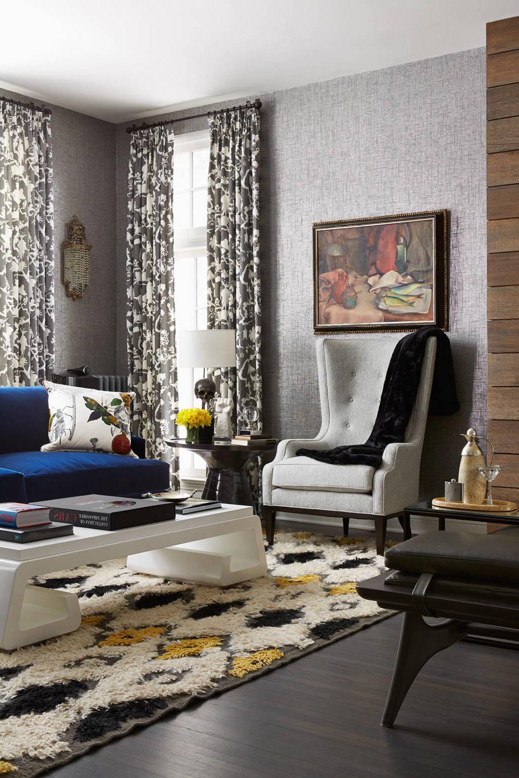Darf das Wohnzimmer Grau sein: Welche Farben passen zu Grau