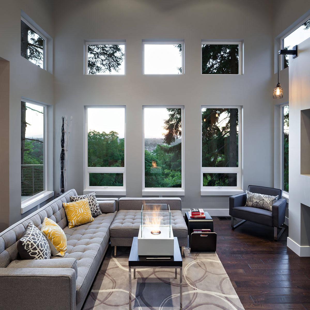 Darf das Wohnzimmer Grau sein: 40 wunderschöne Wohnzimmer Ideen