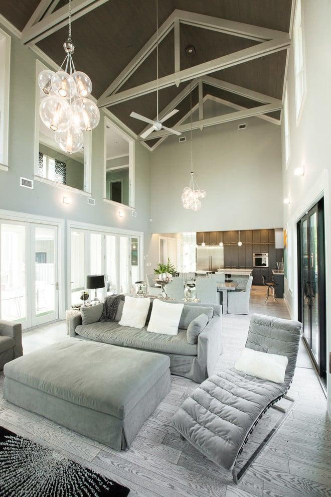 Darf das Wohnzimmer Grau sein