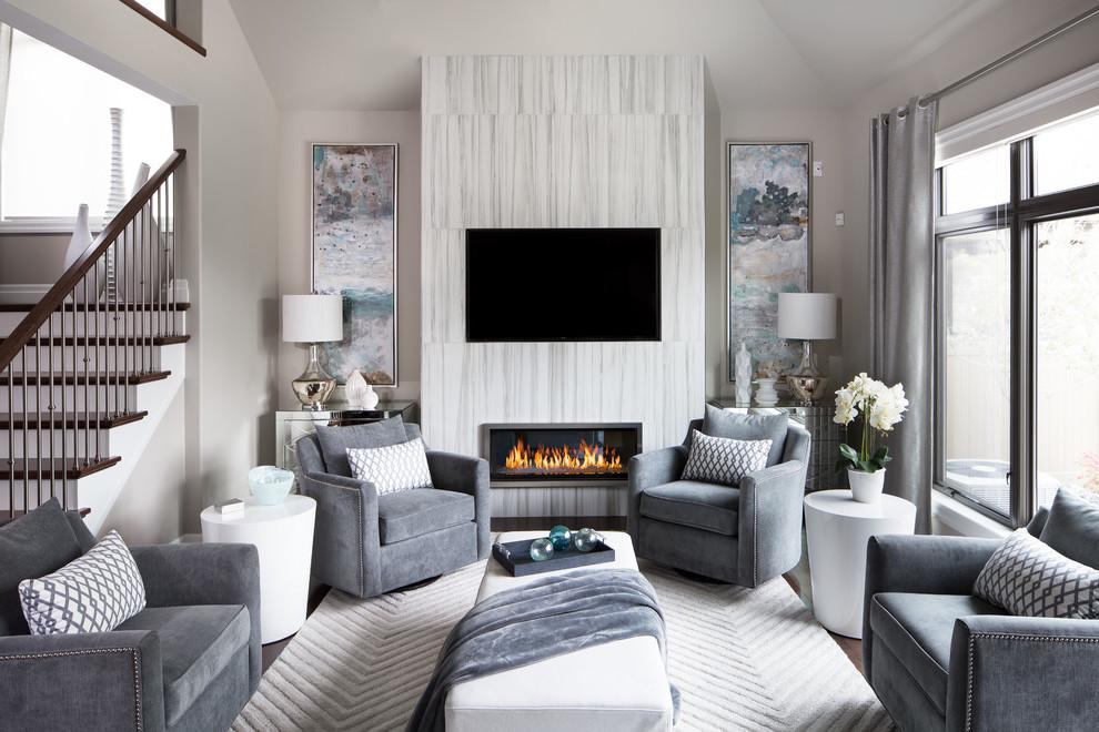 Das Wohnzimmer Grau machen: Langweilig oder perfekt?